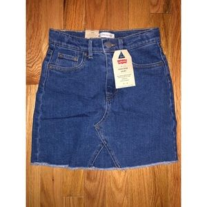 Levi's Big Girls High-Rise Denim Skirt